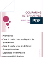 06 - Comparing Alternatives