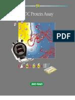 Bio-Rad DC Protein Assay Flier, Rev a.