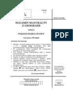 Matura 2006 - geografia - poziom podstawowy - odpowiedzi do arkusza (www.studiowac.pl)