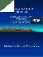 Bahasa Indonesia pertemuan I.ppt