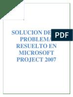 Ejercicio Project