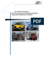 EPA 2010 ATS and DEF Modification Guide