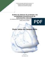 MELLO, P. J. C. Análise de sistemas de produção e da variabilidade tecnofuncional.PDF