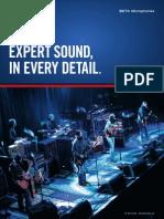SHURE Beta-mic Brochure