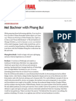 Bochner, Mel With Phong Bui - The Brooklyn Rail