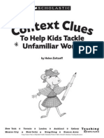 Using Context Clues to Help Kids Tackle Unfamiliar Words