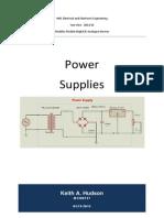 HNC - Analogue/Digital - Power Supplies Assignment