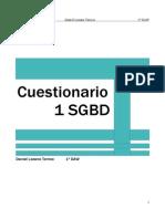 Cuestionario Sobre SGBD (Parte 1)
