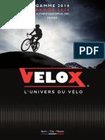 Velox France Catalogue 2014 Final