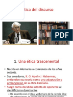 Habermas Apel Ética Del Discurso Kant