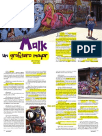 Malk Un Grafitero Mayor