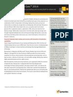 Backup Exec 2014 Datasheet (1)