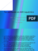 Tac Perfusion en Ictus Agudo