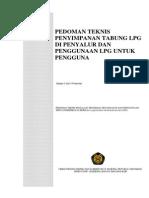 Pedoman penyimpanan LPG