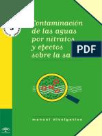 Contaminacion de Las Aguas Por Nitratos y Efectos Sobre La Salud (JUNTA de ANDALUCIA)