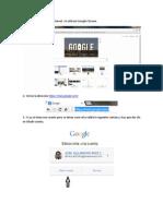 Tutorial Crear Cuenta Google