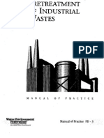Pretreatment of Industrial Wastes