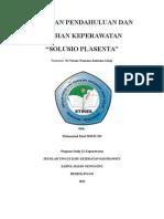 Askep Solutio Placenta