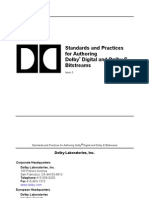 Standards and Practices for Authoring Dolby Digital