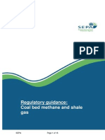 Unconventional Gas Guidance