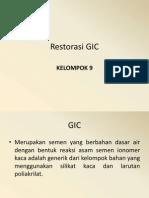 Restorasi GIC Belum Revisi