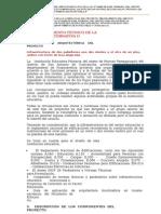 Memoria Descriptiva Pampapuquio - Alternativa II