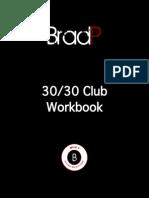 30 30 Club Gold Workbook