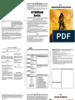 HyborianSaga Playbooks for Apocalypse World