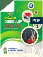 2014 15 Secondary Curriculum Volume 1