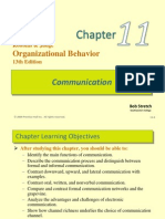 Robbins Organization Behaviour Chapter 11