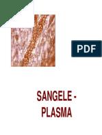 Fiziologie c2 - Sangele (Plasma) 2