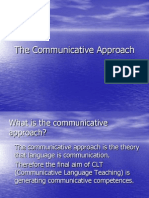 cOMMUNICATIVE APPROACH3b.M1The Communicative Approach