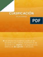 9. Clásificación de Las Señales