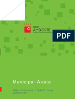 Waste Management in Portugal and Cascais