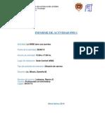 Modelo de Informe Personal Descriptivo