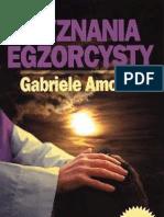 Amorth Gabriele - Wyznania Egzorcysty