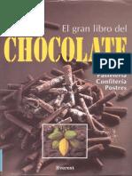 El Gran Libro Del Chocolate