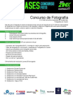 Bases Concurso De Foto
