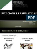 LUXACIONES TRAUMATICAS