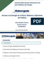 1. Acceso a La Energia en El Peru-Julio Salvador (OSINERMING)