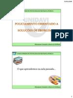 Policiamento Orientado Para o Problema PDF