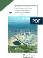 Trab Diseño de Redes Con Glp y Metano en Refinación de Gas.