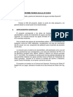 Informes de Aguas Residuales