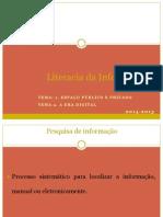Literacia da Informação Filosofia Público Privado