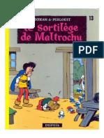 Johan Et Pirlouit 13 - Le Sortilege de Maltrochu