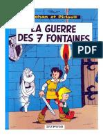 Johan Et Pirlouit 10 - La Guerre Des 7 Fontaines
