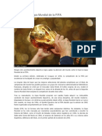 Historia de La Copa Mundial de La FIFA