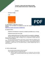 Fisa 1 Proces Comunicare Orange