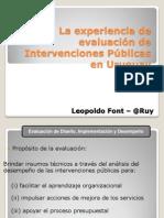 PANEL201POLITICASPUBLICASLEOPOLDOFONTURUGUAY