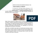 Reporte Etnográfico Escuela Secundaria Técnica n